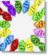 Genetic Biodiversity, Conceptual Image Metal Print