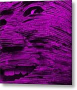 Gentle Giant In Purple Metal Print