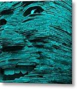 Gentle Giant In Turquois Metal Print