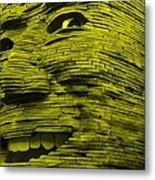 Gentle Giant In Yellow Metal Print