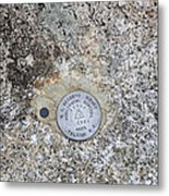 Geological Marker Metal Print