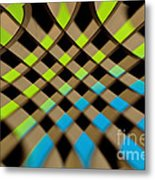 Geometrical Colors And Shapes 1 Metal Print