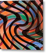 Geometrical Colors And Shapes 2 Metal Print