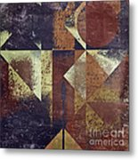 Geomix 04 - 6ac8bv2t7c Metal Print by Variance Collections