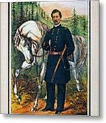 George B. Mcclellan, 1864 Metal Print