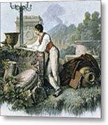 George Gordon Byron Metal Print