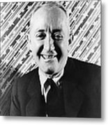 George M. Cohen (1878-1942). George Michael Cohen. American Actor, Composer And Producer. Photographed By Carl Van Vechten, 1933 Metal Print