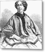 George Sand, French Author And Feminist Metal Print