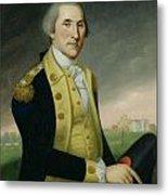 George Washington At Princeton Metal Print