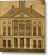 George Washingtons First Inauguration Metal Print by Everett