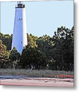Georgetown Light Winyah Bay Sc Metal Print