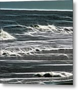 Georgia - Ocean Sparks Metal Print