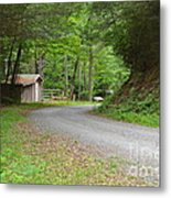 Georgia Mountain Road Metal Print