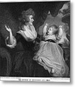 Georgiana, Duchess Of Devonshire Metal Print
