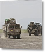 German Army Man 7t Mil Gl 6x6 Pritsche Metal Print