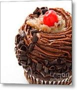 German Chocolate Cupcake 4 Metal Print