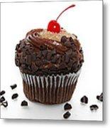 German Chocolate Cupcake Metal Print