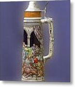 German Steins Metal Print