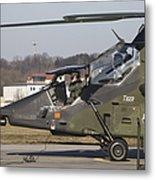 German Tiger Eurocopter At Fritzlar Metal Print