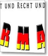 Germany Metal Print