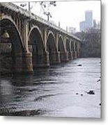 Gervais Street Bridge Angled Metal Print