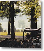 Gettysburg Artillery Metal Print