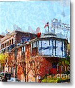 Ghirardelli Chocolate Factory San Francisco California . Painterly . 7d14093 Metal Print