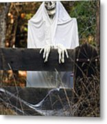 Ghost At The Gate Metal Print