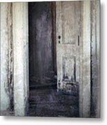Ghost Girl In Hall Metal Print by Jill Battaglia