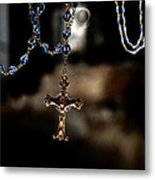 Ghost Of A Rosary Metal Print