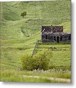 Ghost Town Galilee Saskatchewan Metal Print