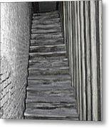 Ghost Town Stairs Bodie California Metal Print