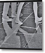 Ghost Walkers Metal Print