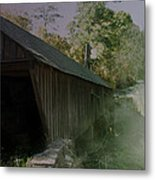 Ghostly Cover Metal Print