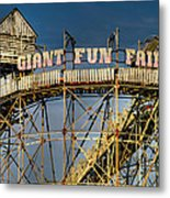 Giant Fun Fair Metal Print
