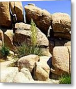 Giant Rocks Metal Print