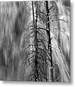 Gibbons Falls In Yellowstone National Park Metal Print