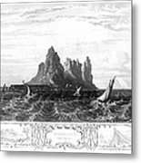 Gibraltar, 19th Century Metal Print