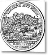 Gibraltar: Medal, 1727 Metal Print