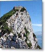 Gibraltar's Moorish Castle Metal Print