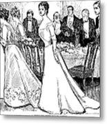 Gibson: After-dinner, 1899 Metal Print