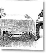 Gibson: Breakfast, 1898 Metal Print