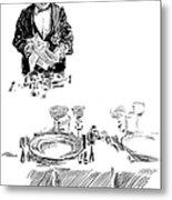 Gibson: Butler, 1900 Metal Print