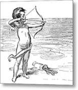 Cupid, 1900 Metal Print