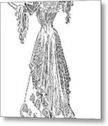 Gibson: Gibson Girl, 1903 Metal Print