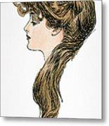 Gibson Girl, 1903 Metal Print