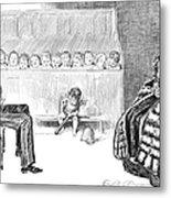 Gibson: Trial By Jury Metal Print