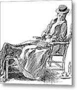 Gibson: Woman, 1898 Metal Print