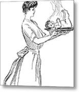 Gibson: Woman, 1903 Metal Print