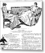Gibson: Women, 1897 Metal Print